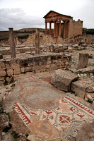 Lost Roman city of Dougga