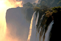 Vic Falls in the dry season