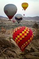 Balloons Over the Hills