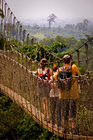 Swinging bridge -Kakum National Park, Ghana